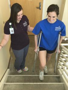 sports medicine gait training