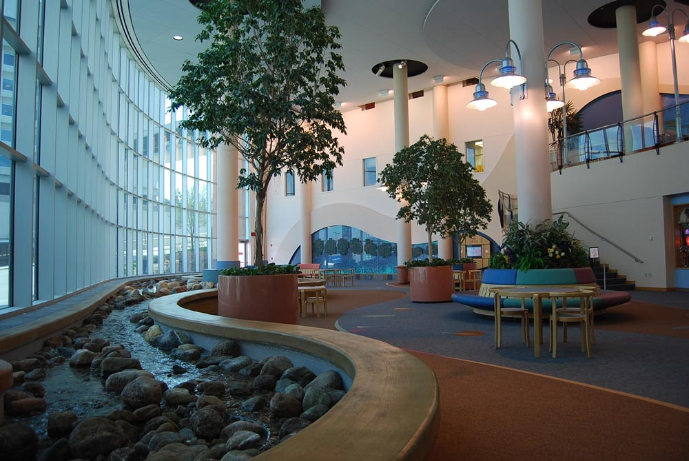 Children's Hospital & Medical Center atrium