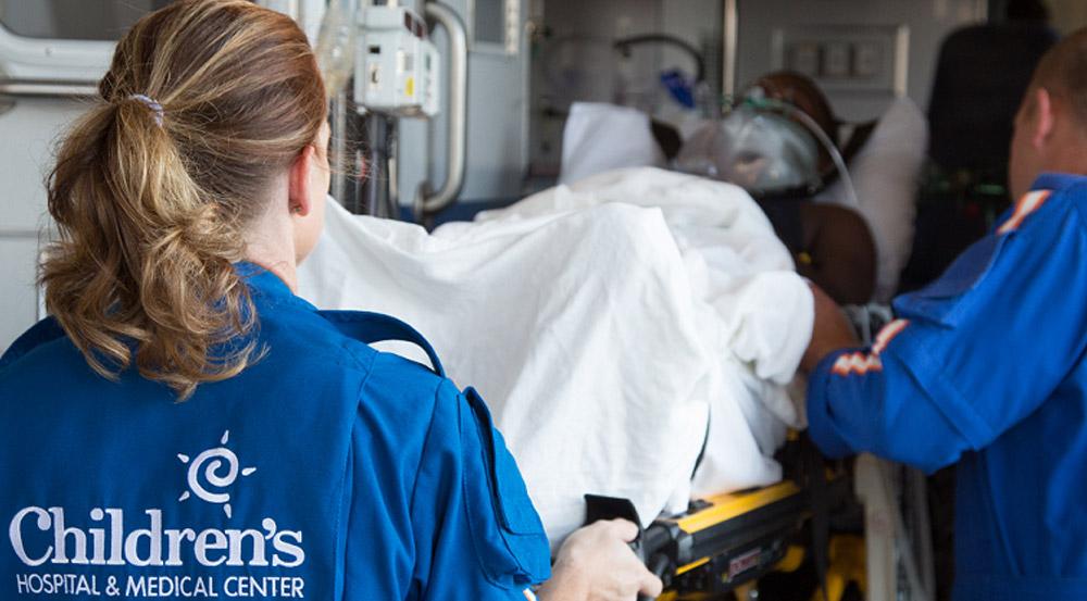 Transport (Critical Care) | Children's Hospital & Medical Center