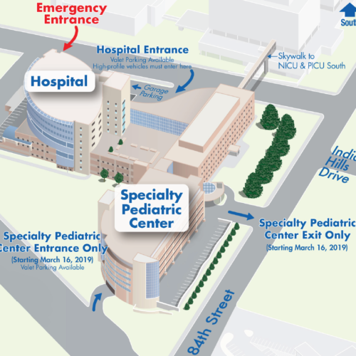 EFFECTIVE MARCH 16: Specialty Pediatric Center (SPC) Construction Parking Changes