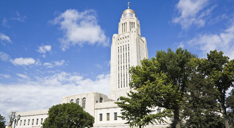 Nebraska legislative building