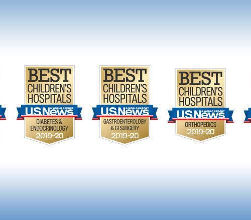 Children's Recognized Among Nation's Best Children's Hospital