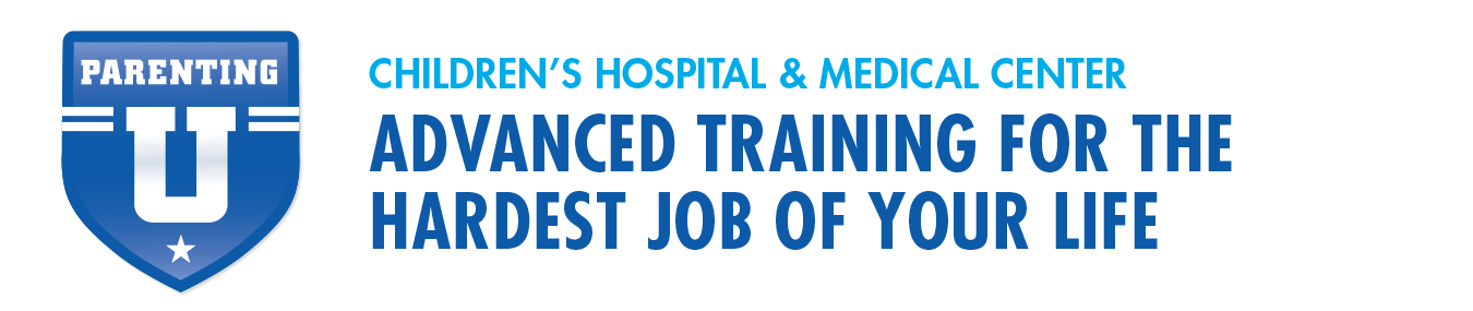 banner stating advanced training for the hardest job of your life